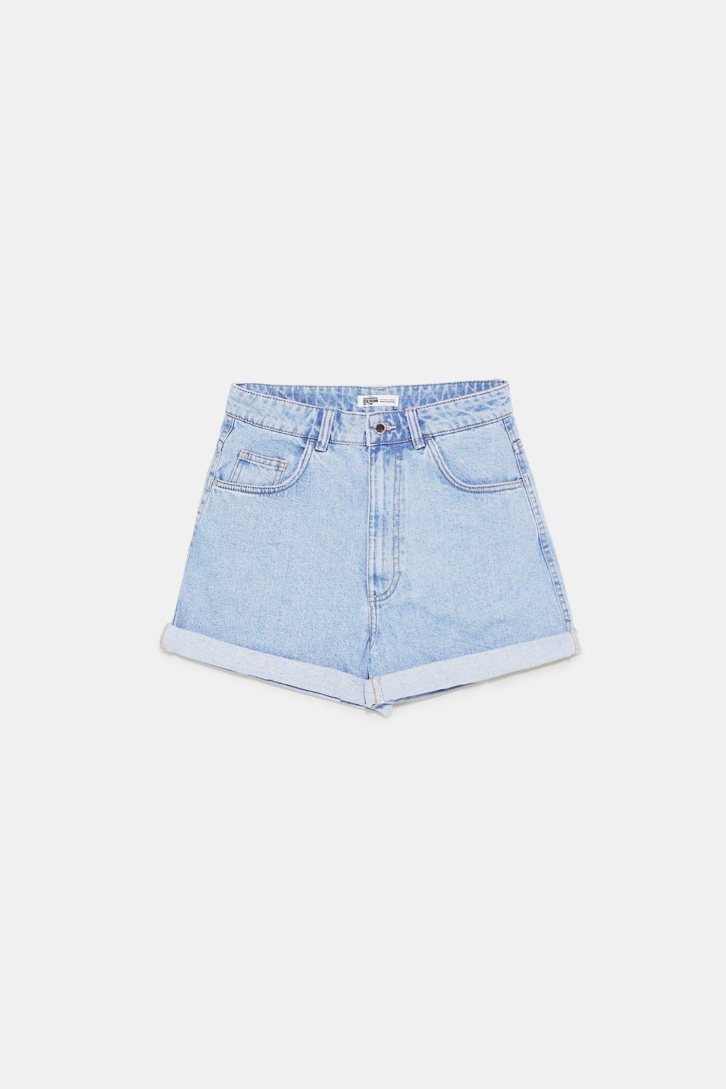 7afad8a9 Image 8 of MOM-FIT BERMUDA SHORTS from Zara | Style in 2019 ...