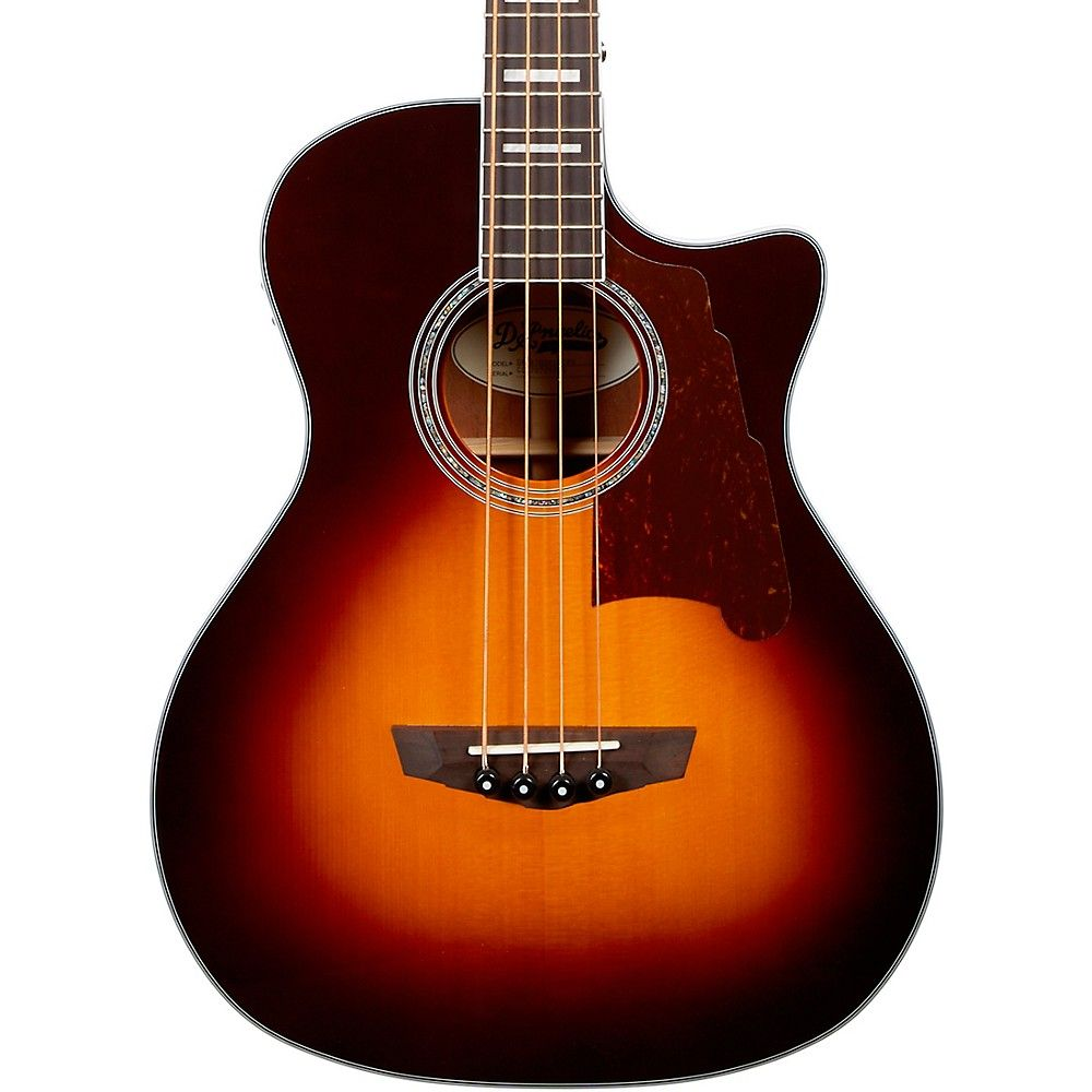 D Angelico Premier Series Mott Single Cutaway Acoustic Bass With Onboard Preamp And Tuner Acoustic Bass Acoustic Mott