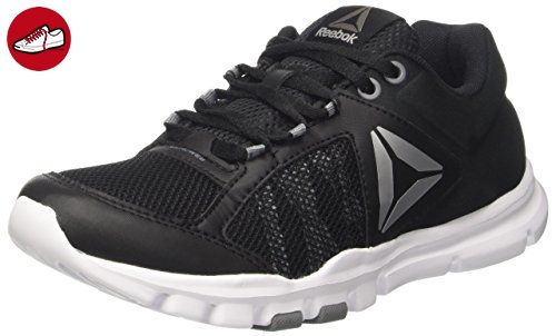 Yourflex Trainette 9.0 MT, Chaussures de Fitness Femme, Noir (Black/White/Asteroid Dust/Silver Met/Grey), 35.5 EUReebok