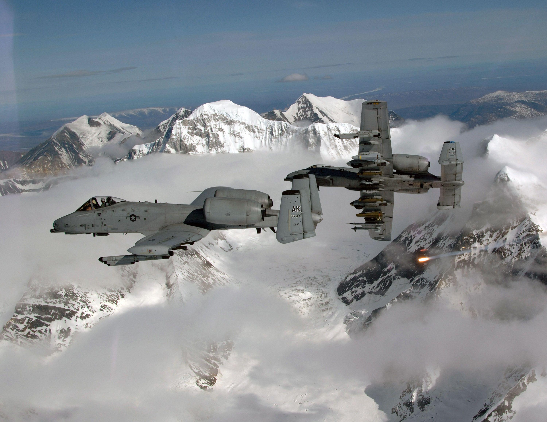 Fairchild Republic A10 Thunderbolt II Aircraft, Fighter