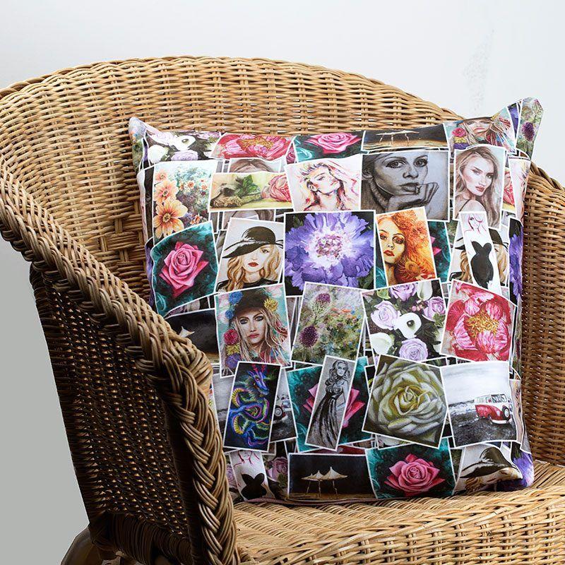 deko mit erinnerungen 11 ideen mit denen sie fotocollage selber machen deko foto. Black Bedroom Furniture Sets. Home Design Ideas