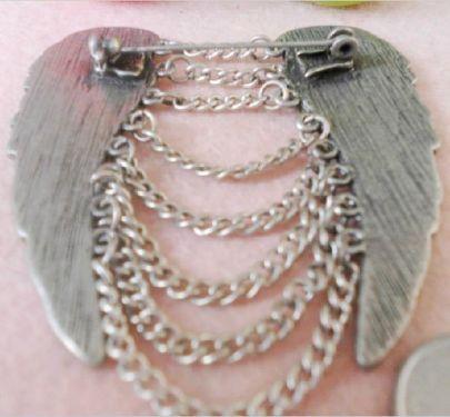 Hot Sale Alloy Tassels Wing Brooch - Sheinside.com #SheInside