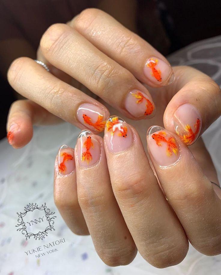 """Yukie Natori NY Spa & Salon auf Instagram: """"Neu !! 【Spring Nail Design】 Von Y #nails #naildesigns #nailart – Nails"""
