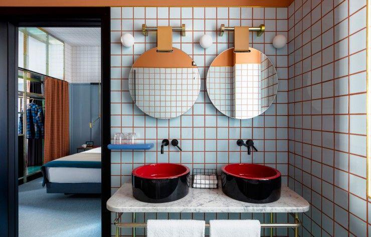 L\u0027esprit de Milan en un hôtel salle de bain Pinterest Bathroom