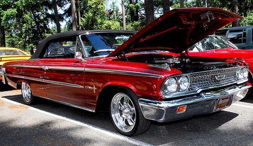 1963 Galaxie 500 Xl Convertible Classic Cars Trucks Hot Rods Ford Galaxie Ford Classic Cars