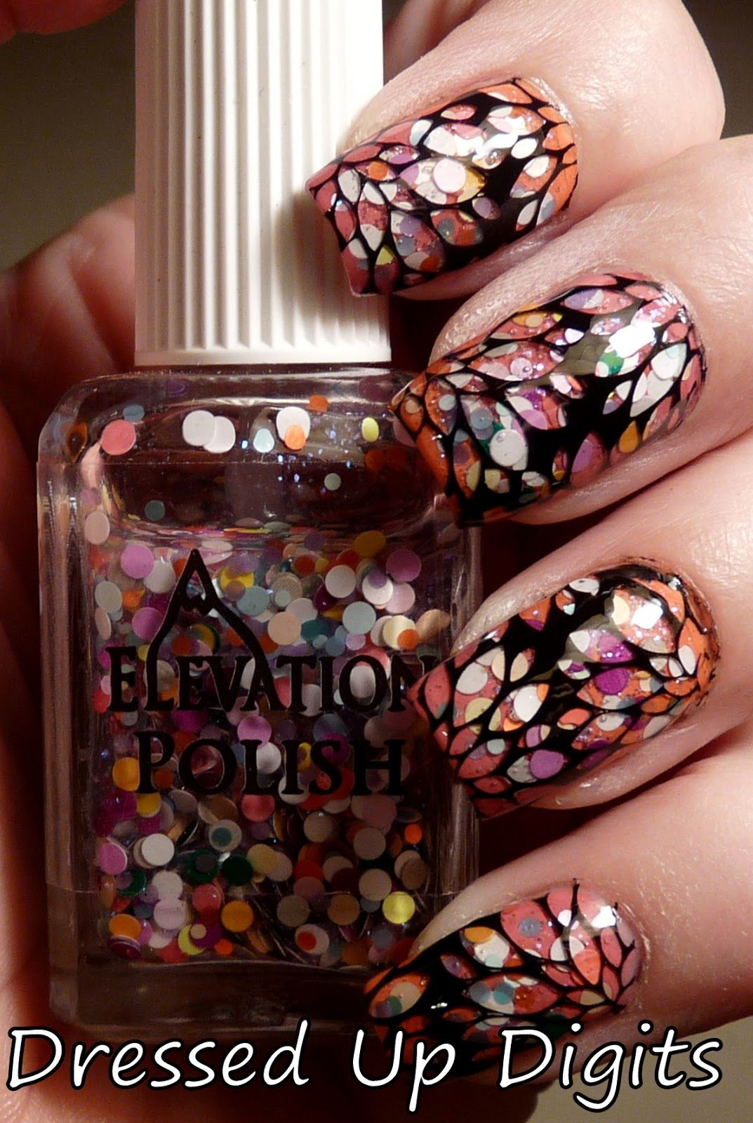 Pretty Painted Fingers Toes Nail Polish