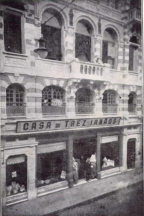 1922 - Rua Direita, 26 - Casa dos Três Irmãos