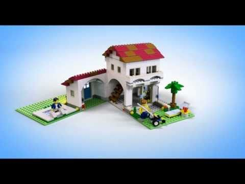 Lego Creator Buildings 31012 Family House Lego 3d Review