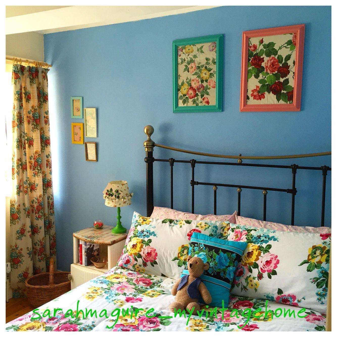 room color vintage cottage chic bunte wohnideen pinterest traumwohnung einrichten und. Black Bedroom Furniture Sets. Home Design Ideas