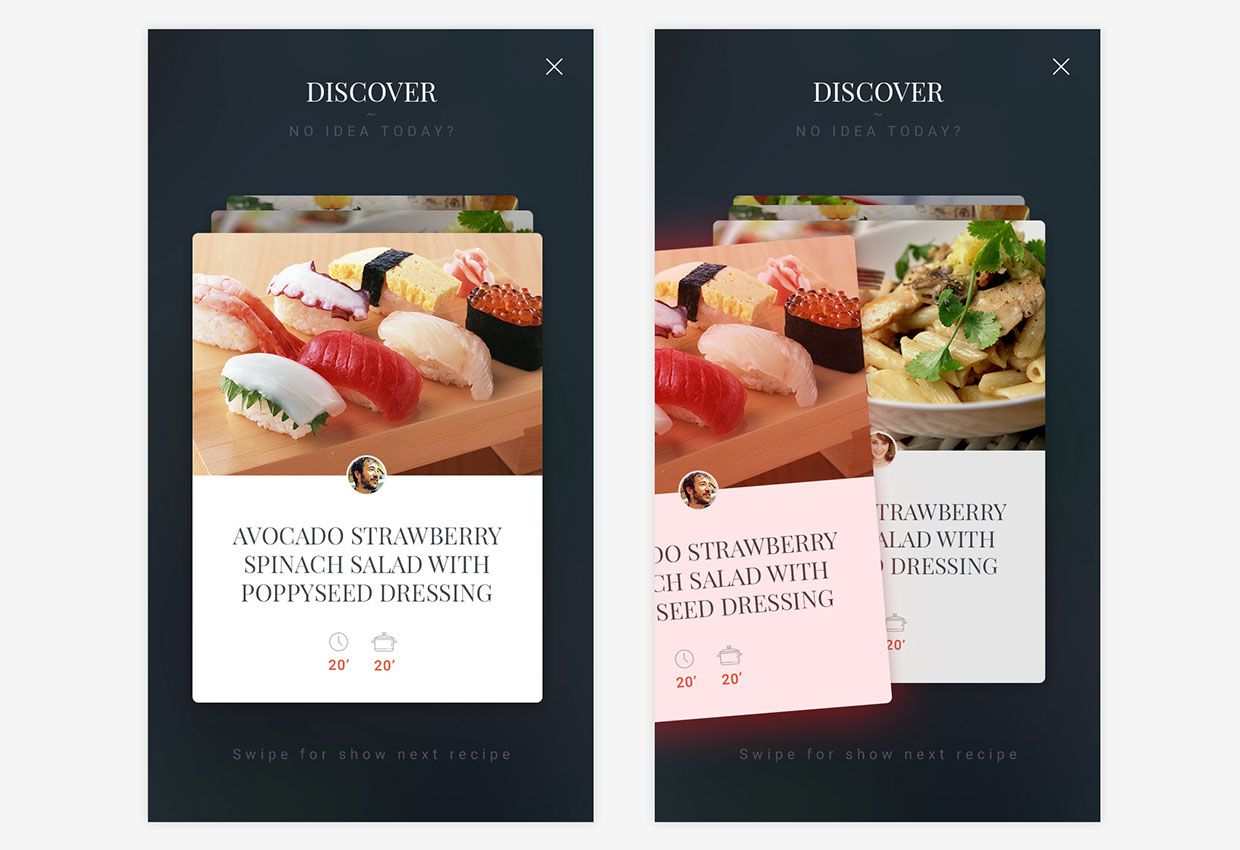 Free cooking recipe app template on behance apps design miam is a free ios ui kit for your cooking appsthis is a useful ui kit for cooking recipe mobile apps with 17 fully editable and customisable screens forumfinder Choice Image