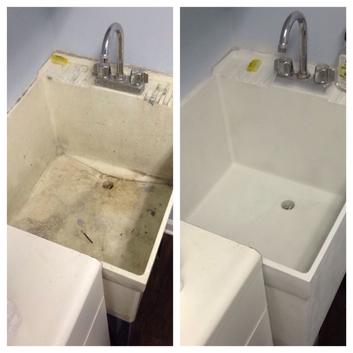 Slop Sink Makeover Laundry Room Sink Laundry Room Makeover