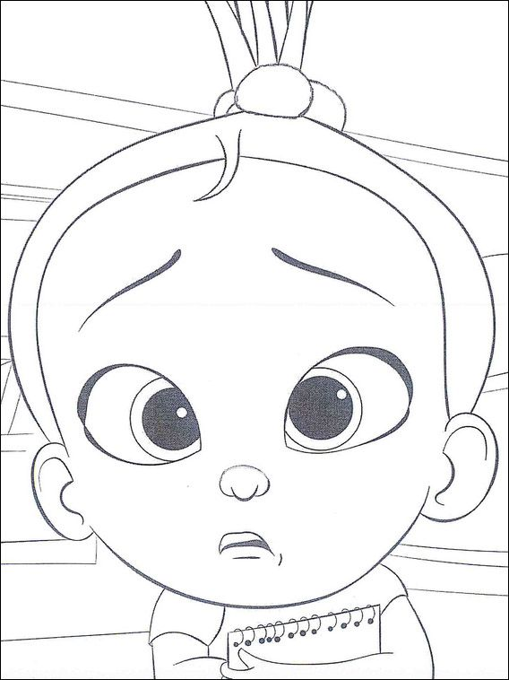Boss Baby Coloring Book 18 Baby Coloring Pages Coloring Pictures Cute Coloring Pages