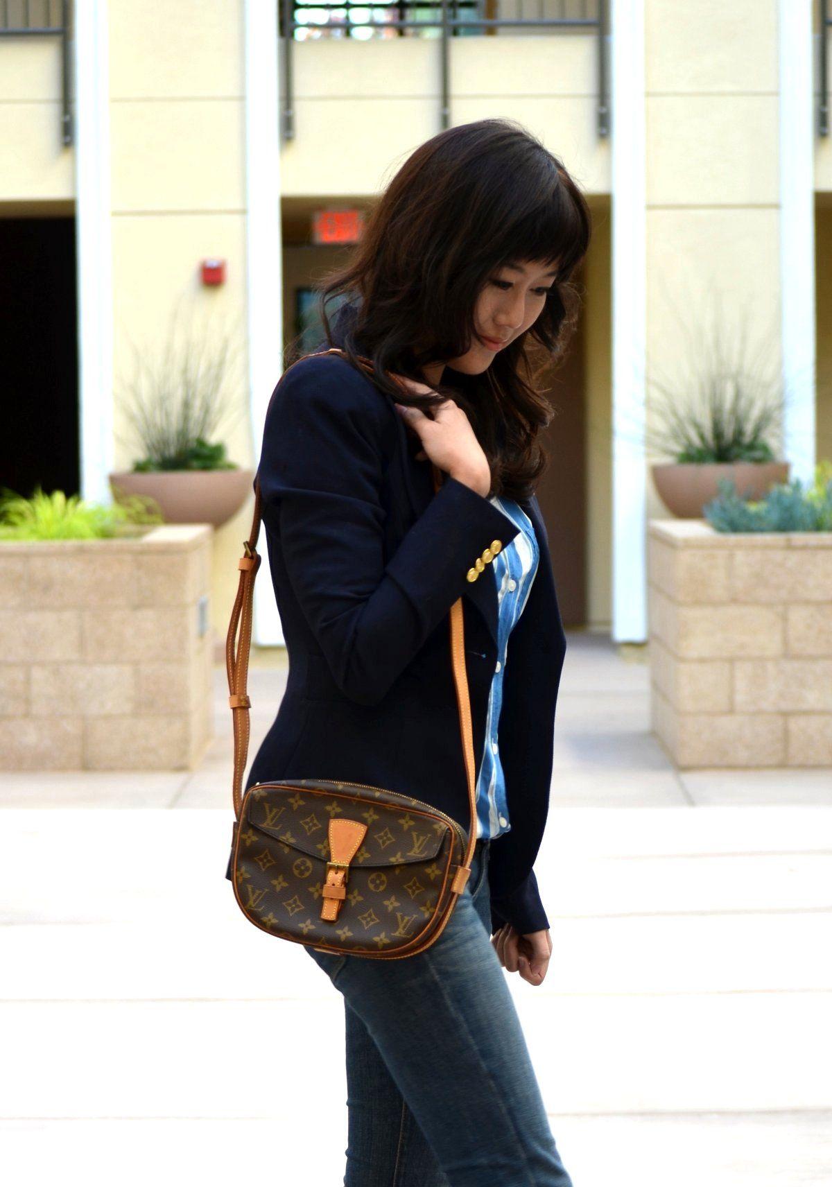 65f8e653ab4a Louis Vuitton Jeune Fille Shoulder Bag