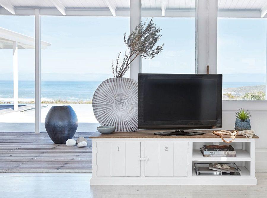 Meuble Tv 2 Portes Figuerolles En Manguier Massif Grise Et Blanc Meuble Tv Maisons Du Monde Ventes Pas Cher Com Meuble Tv Maison Du Monde Maison Du Monde Meuble Tv