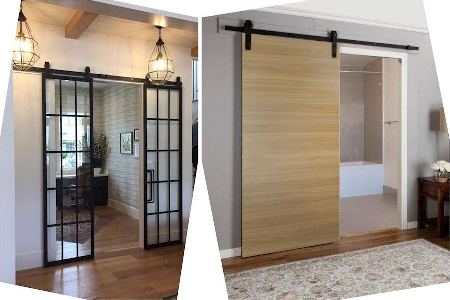 Sliding Door Mechanism Sliding French Doors Internal Double Folding Doors In 2020 Barn Doors Sliding Barn Door Sliding Doors