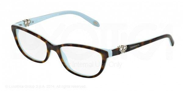 4f7f64e7c44 TIFFANY Eyeglasses TF 2051B 8055 Black Blue 53MM TIFFANY.  175.80 ...