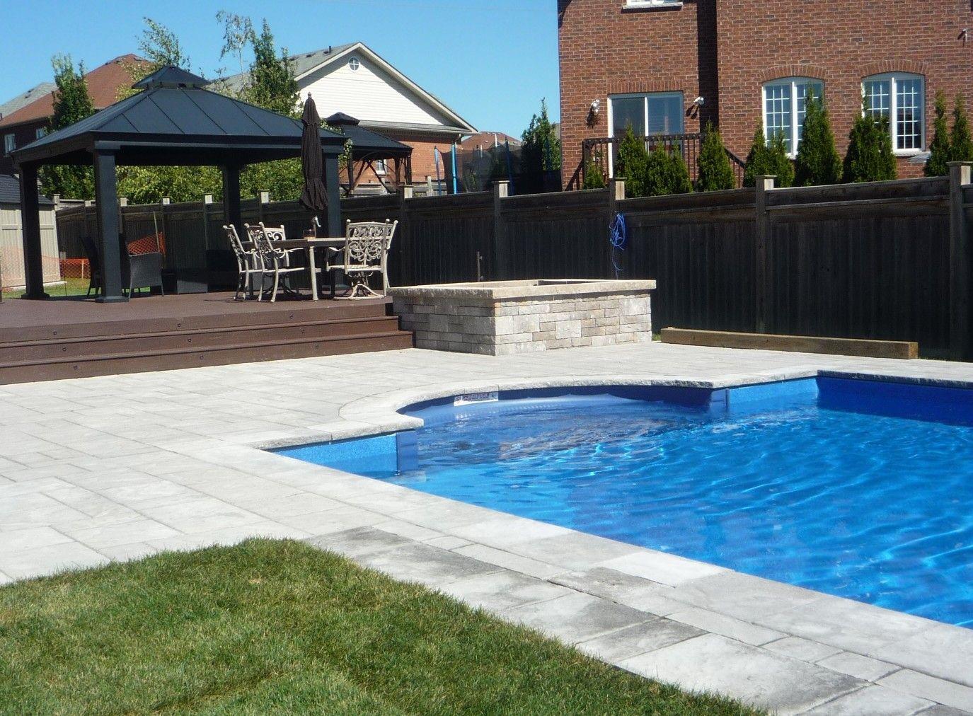 Swimming Pool Interlocking Pool Deck Composite Deck With Cabana