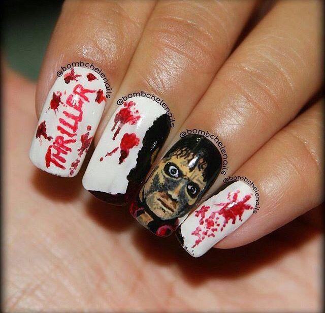 Thriller nails michael jackson pinterest thrillers and michael jackson thriller nails prinsesfo Gallery