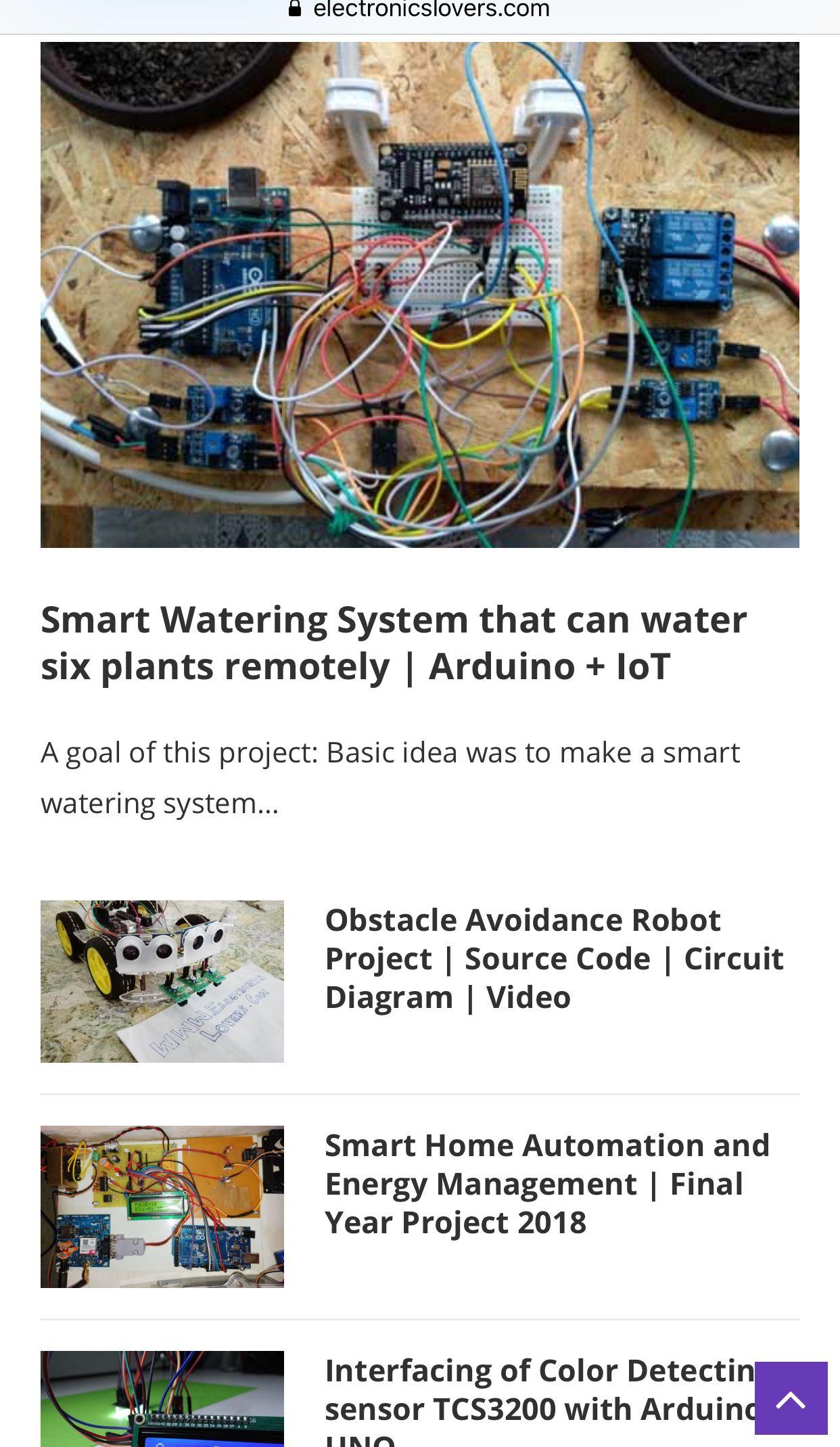 Pin by Warren on DIY Power | Iot projects, Arduino, Arduino