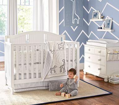 Catalina 3 In 1 Convertible Crib Pottery Barn Crib Cribs Baby Cribs Convertible