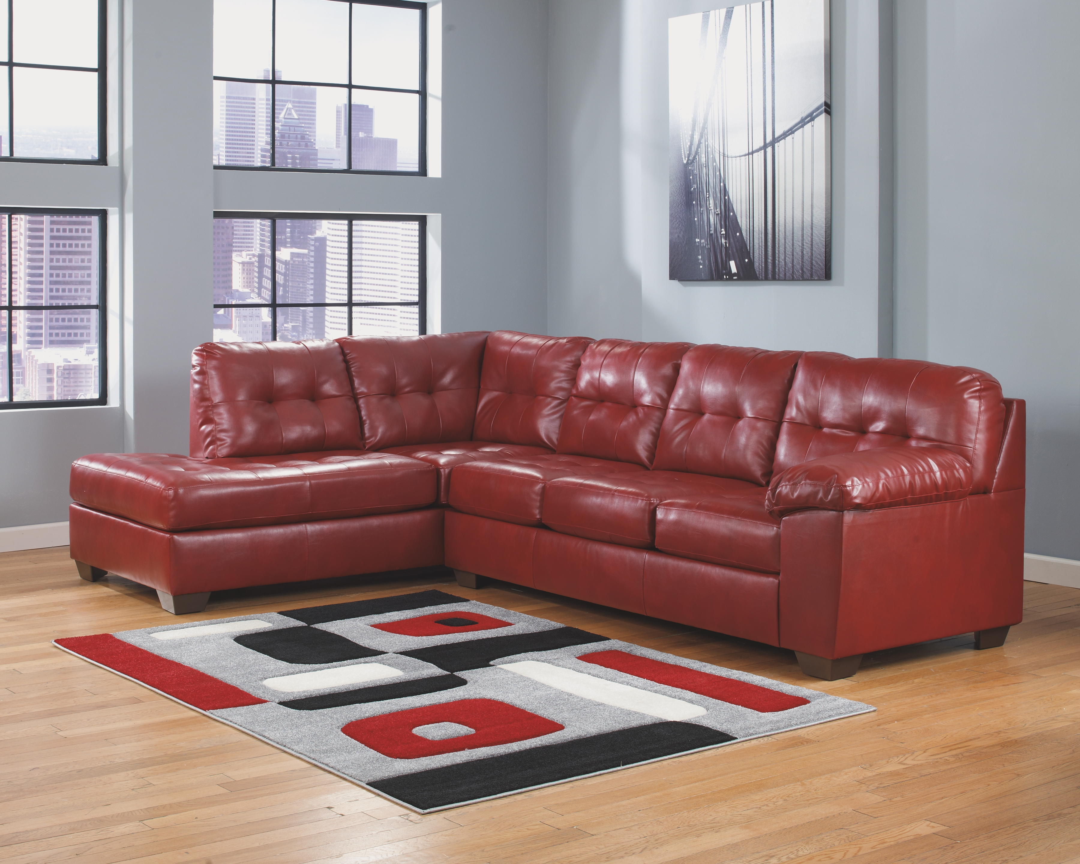 Alliston 2-Piece Sectional with Chaise | Products | Red ...