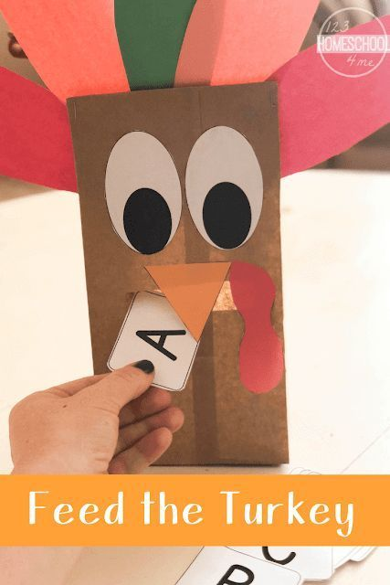 🦃 Feed the Turkey Activity (with free printables!)