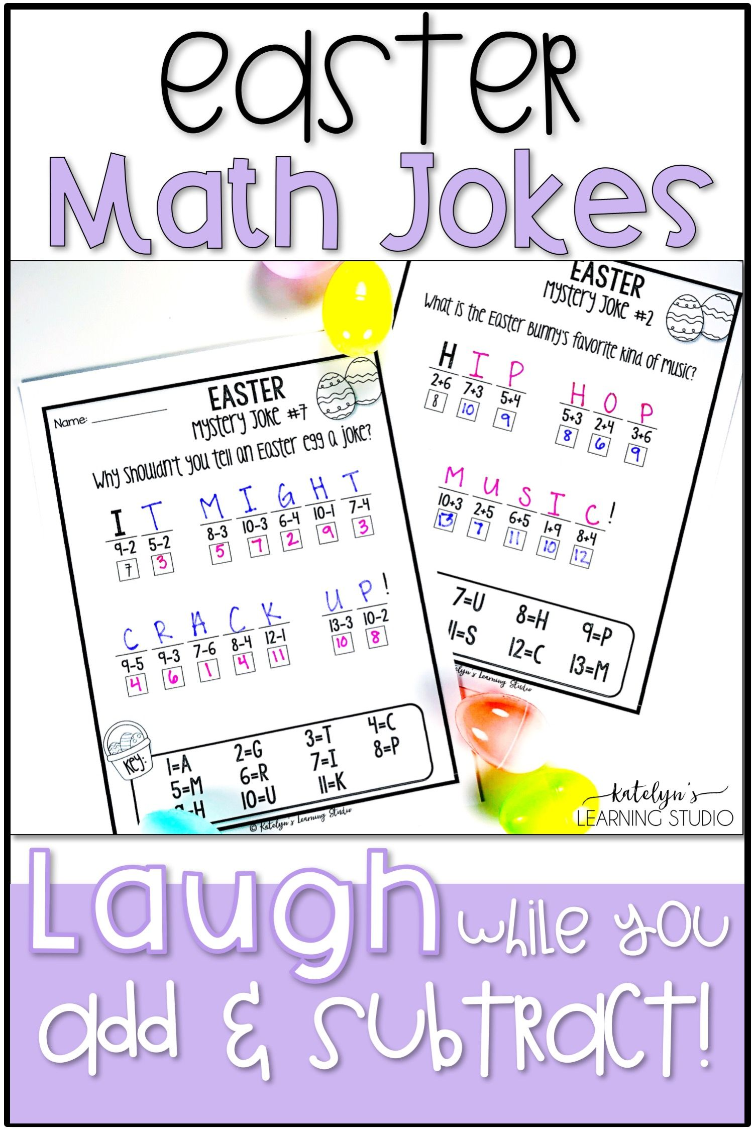 Easter Math Worksheets With Images