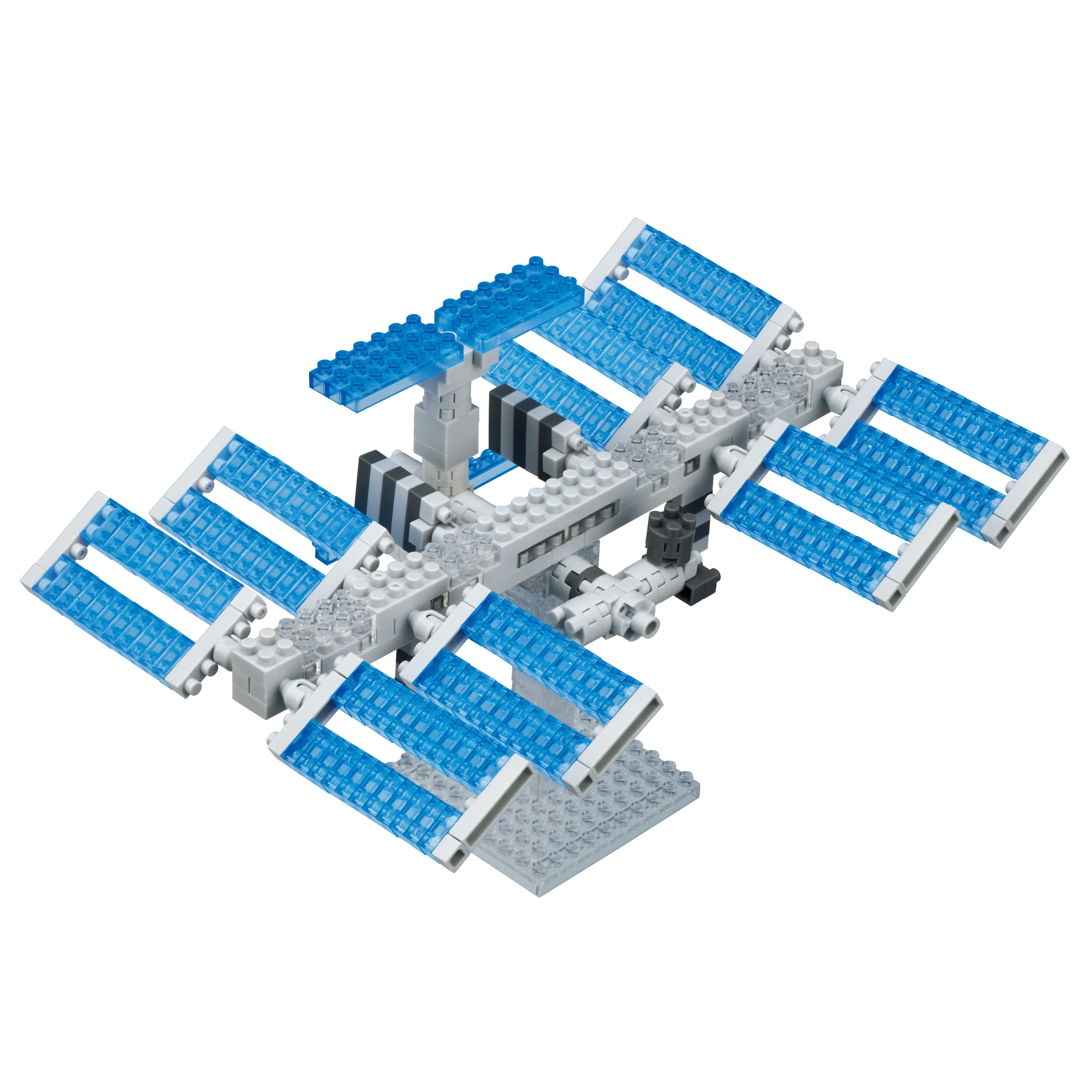 Buy Nanoblock International Space Station Kit From Science