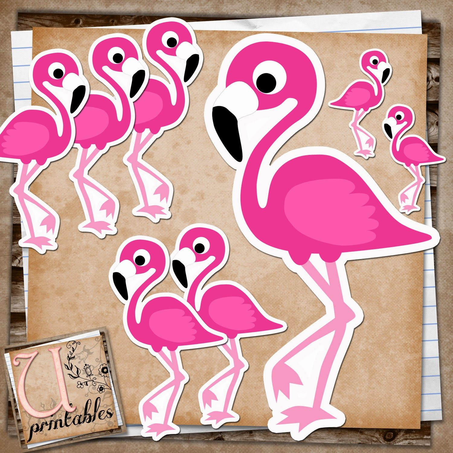 photograph relating to Flamingo Printable known as RebeccaB Models: Free of charge Printable - Flamingo Print and Slice