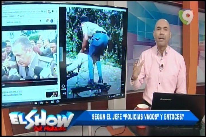 Rusking Pimentel Presenta El Vídeo Donde Jefe PN Llama Vagos A Los Policías