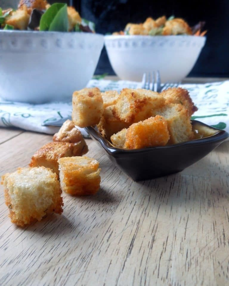 Buffalo croutons recipe croutons food recipes