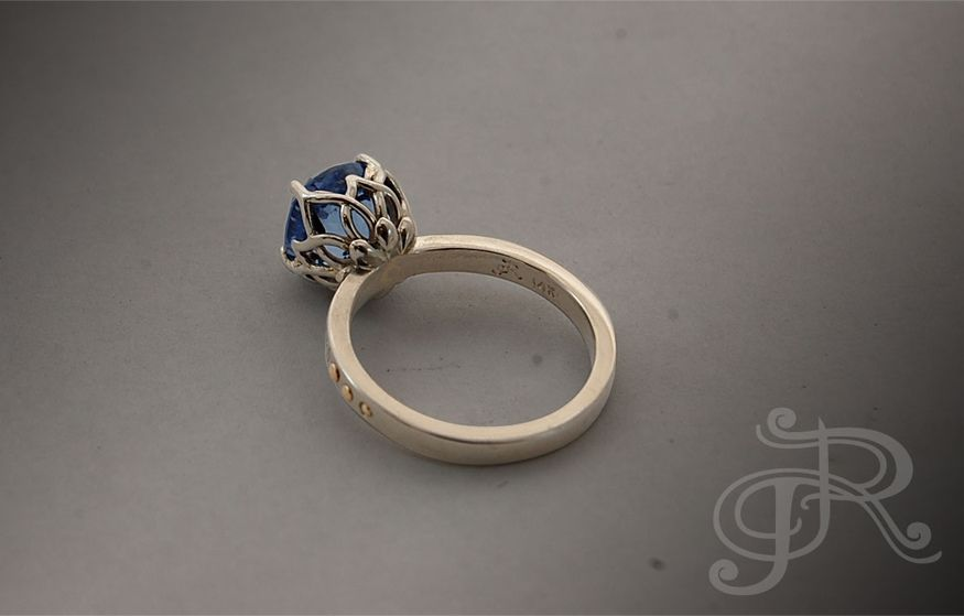 solitaire gold ring designs - Google Search