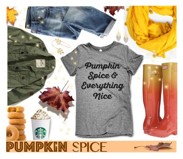 """Pumpkin Spice Style"" by mrsjillc ❤ liked on Polyvore featuring Hollister Co., Bohemia, Hunter, Wrap, Miss Selfridge and pss"