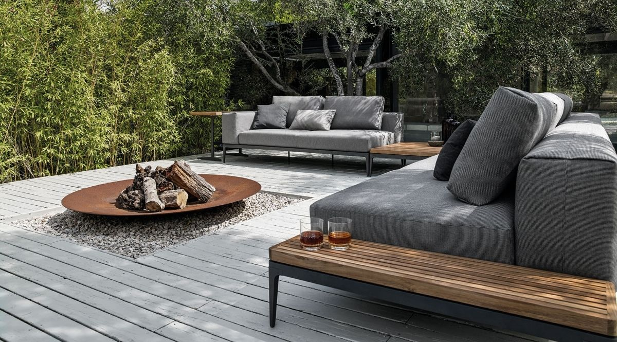Mobilier Exterieur Gloster Gloster Grid Seating Outdoor