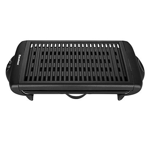Excelvan Indoor Electric Classic Plate Barbecue Grill ...