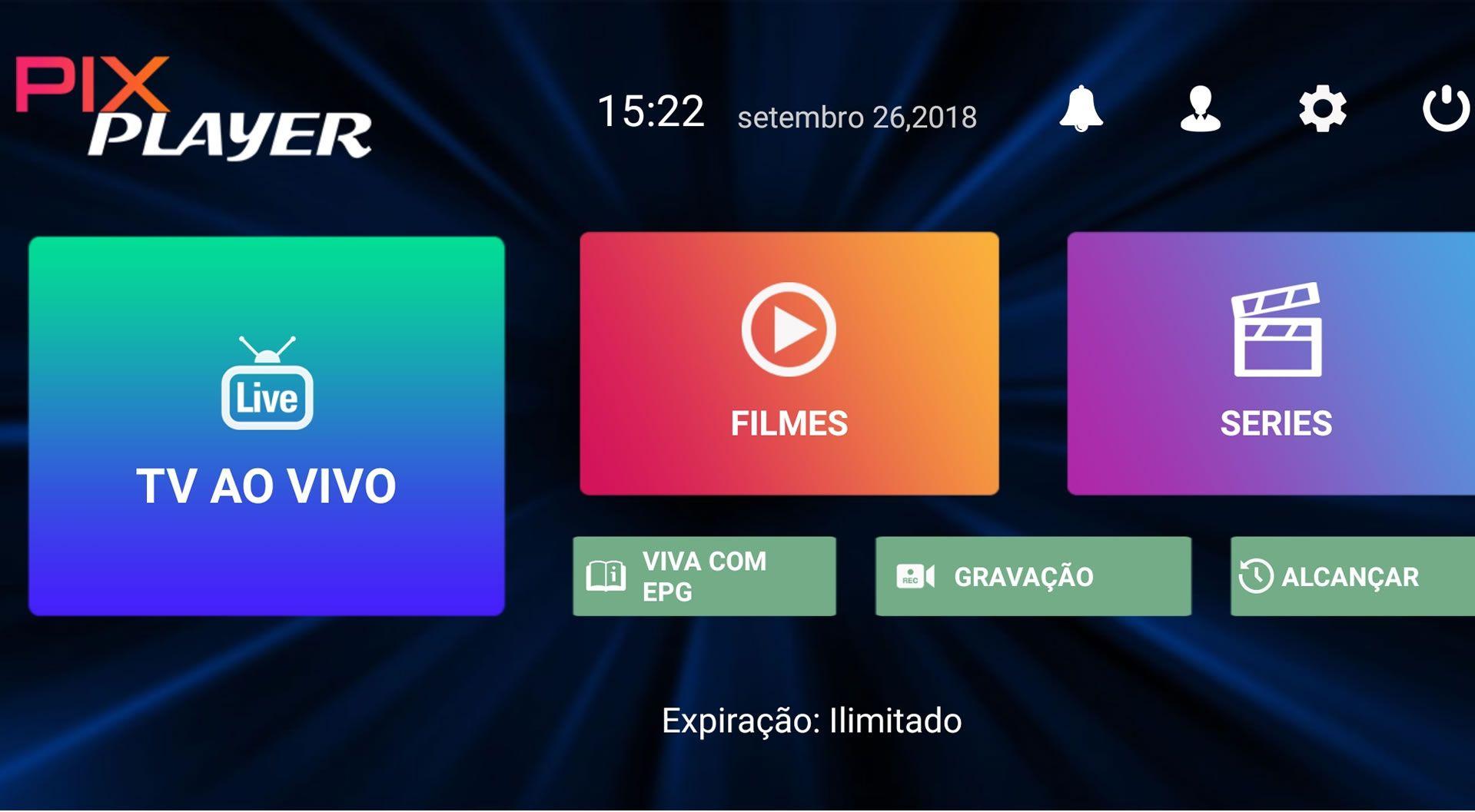 Pix Player Para Celular Box Android Com Imagens Smart Tv