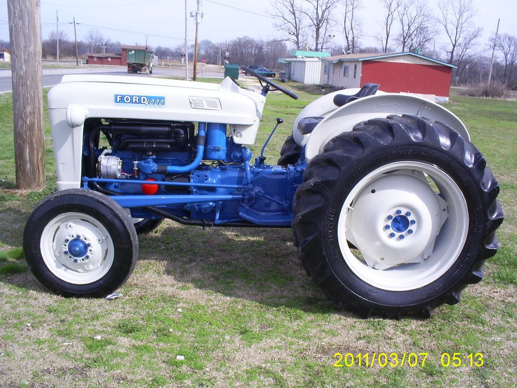 1964 Ford 4000 Utility Tractor, Tractor Implements, Classic Tractor,  Vintage Tractors, Antique