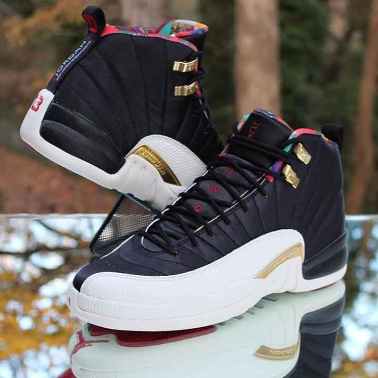 Air Jordan 12 Retro GS Size 7Y CNY Chinese New Year 2019