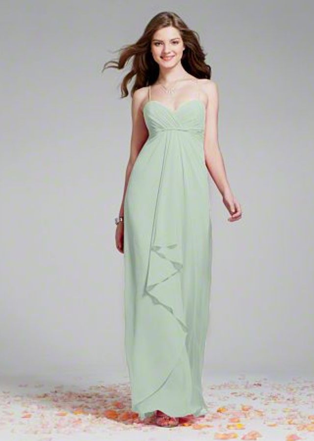 Sea Mist Bridesmaid Dress