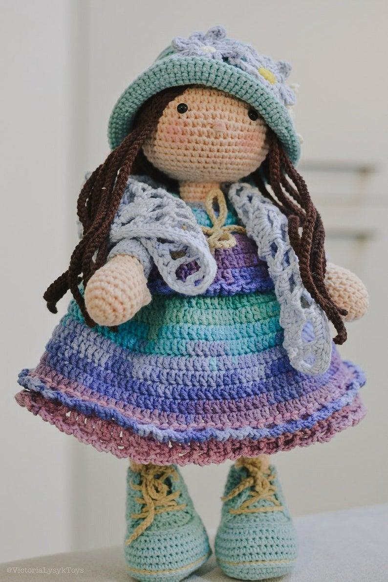 TILDA Crochet Doll - Amigurumi   Crochet doll pattern, Crochet ...   1191x794