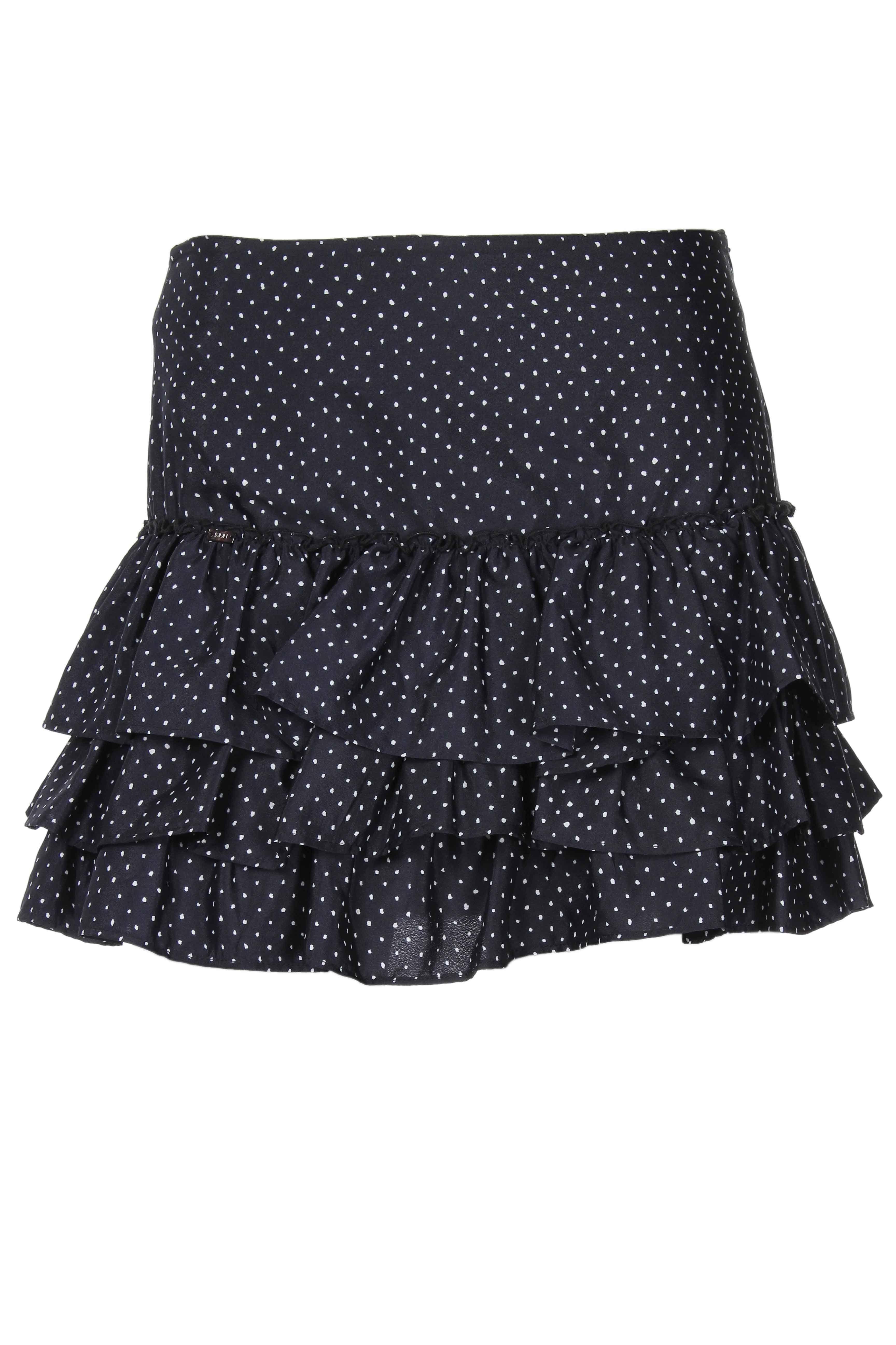 Jupes Mini-jupe IKKS - couleur NOIR - matiere Polyester   Vêtements ... 618c413a085