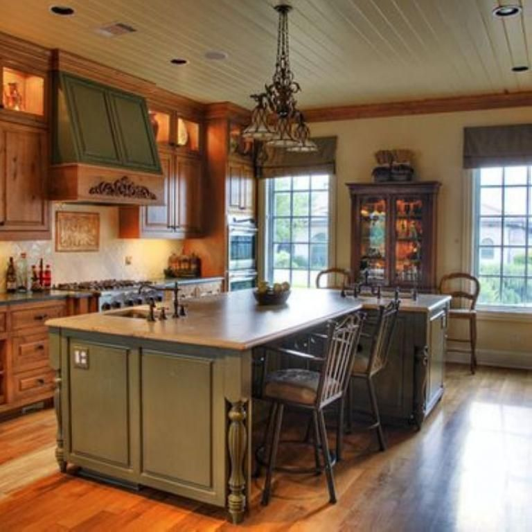Painting Knotty Pine Cabinets: 40+Fabulous Interior Decorating Ideas For Kitchens
