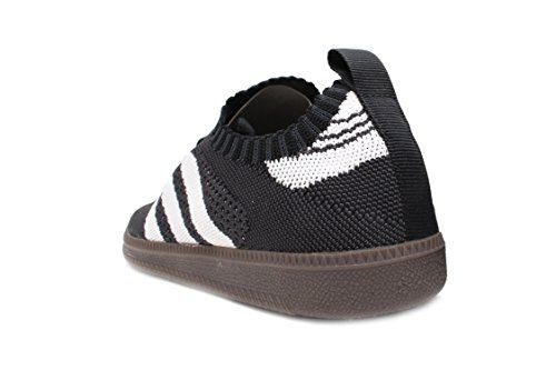 fbbd88b4154 Amazon.com  adidas Samba Primeknit Sock Mens in Core Black Cloud White Core  Red by  Shoes