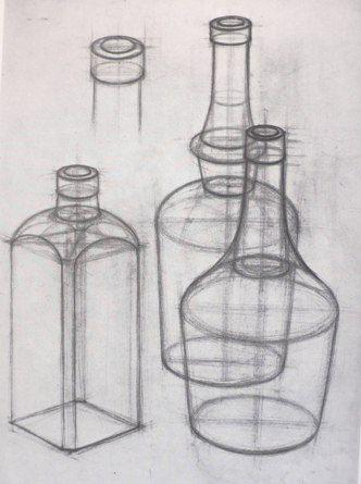 Bloque 1 Expresion Plastica Dibujos De Botellas Arte Dibujos En Lapiz Dibujos Artisticos