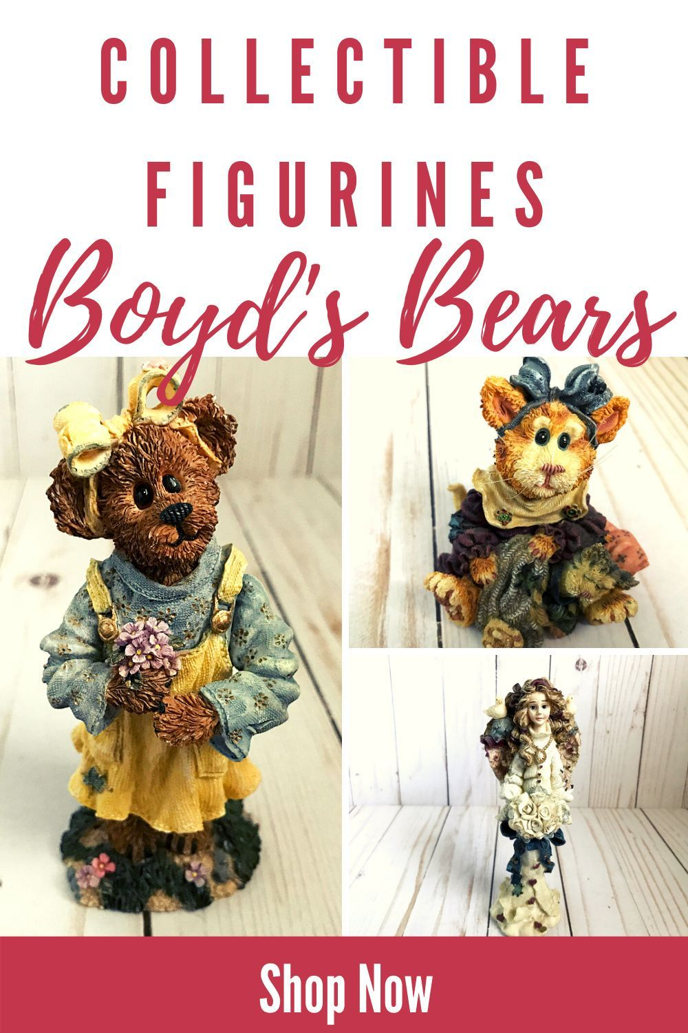 Boyds Bears Maddy Purrkins The Catnap Cat Figurine Cute Cat Lover Gift for Her Vintage 1999 Purrstone Collection