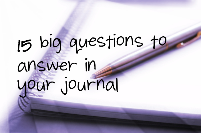 how to answer journal questions