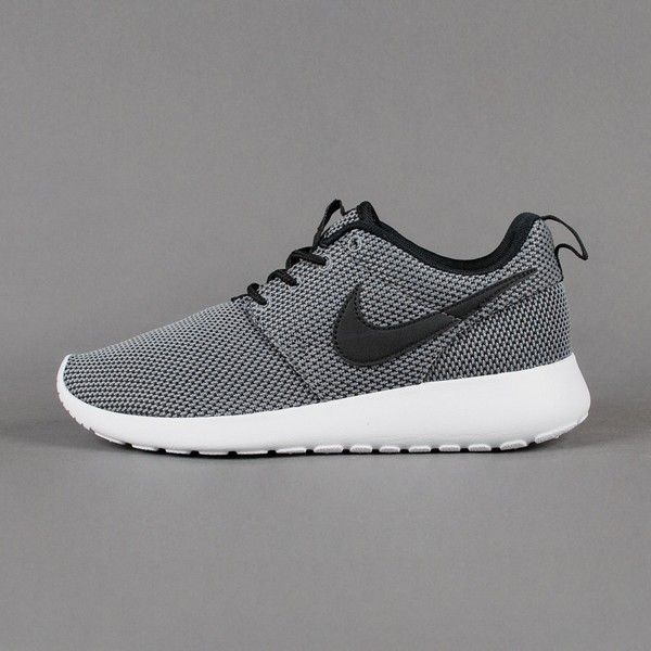 nike roshe runs grey boys