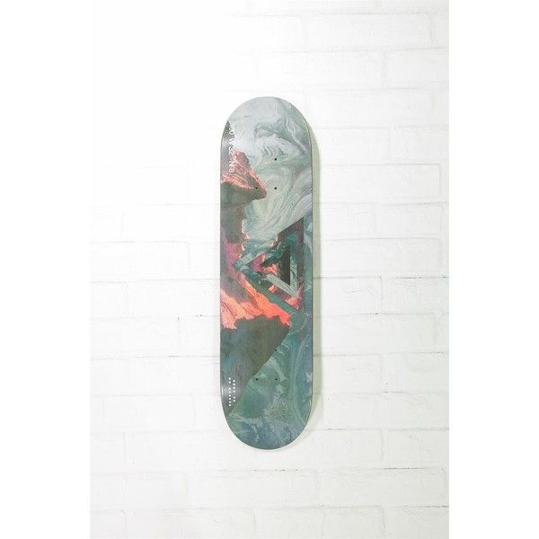 skateboard wall art ($14) ❤ liked on Polyvore featuring home, home
