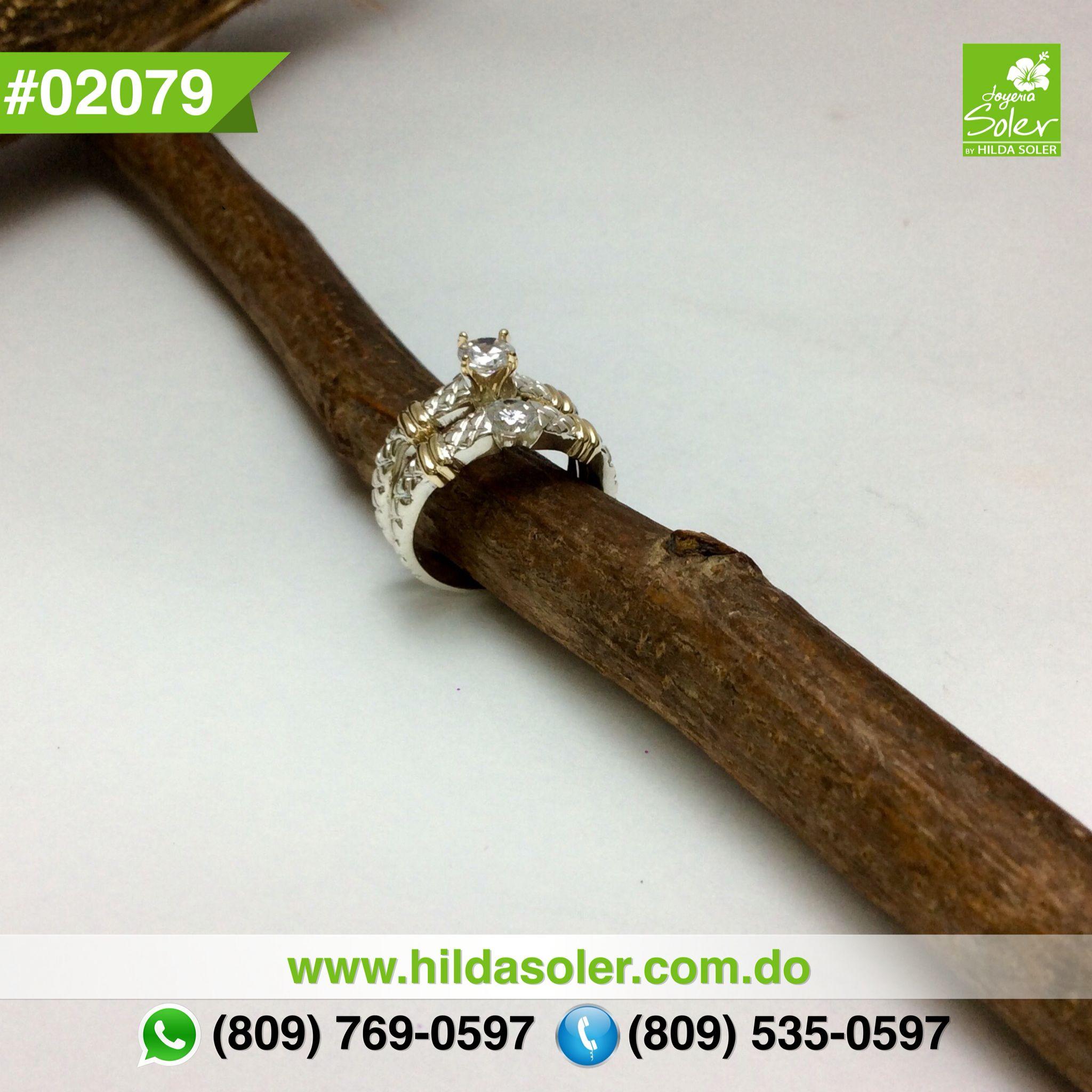 Par de anillos de bodas en plata 925 y oro 14 KT  RD $6,500 pesos  Grabado .... GRATIS !!!!