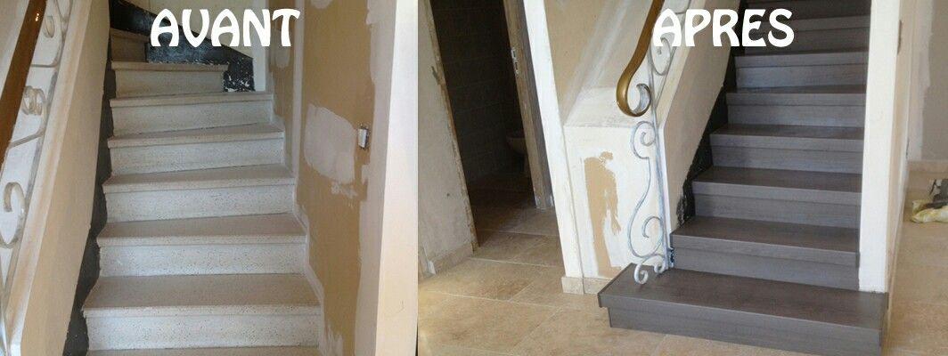 Idee Pour Relooker Un Escalier En Marbre Escalier En Marbre Escalier Renover Escalier